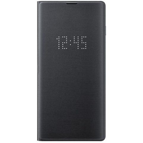 Samsung S10 LED翻頁式皮套 black