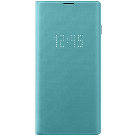 Samsung S10 LED翻頁式皮套 green