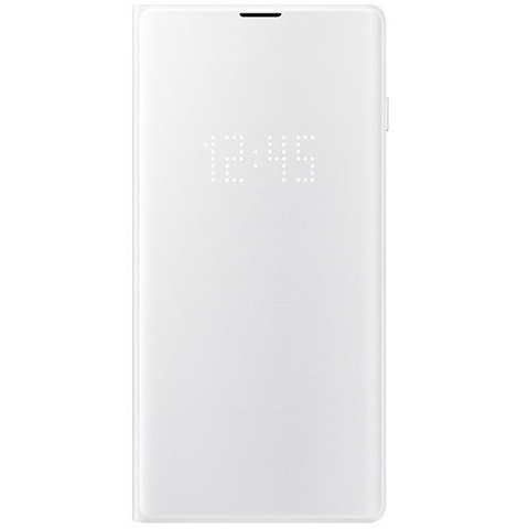 Samsung S10 LED翻頁式皮套 white