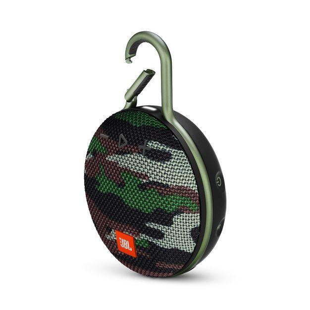 JBL Clip3 Portable Bluetooth Speaker Black 迷彩