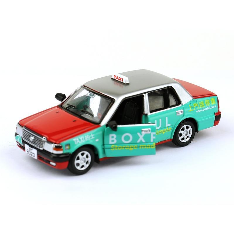 Tiny微影 72 豐田皇冠的士 [Boxful版]