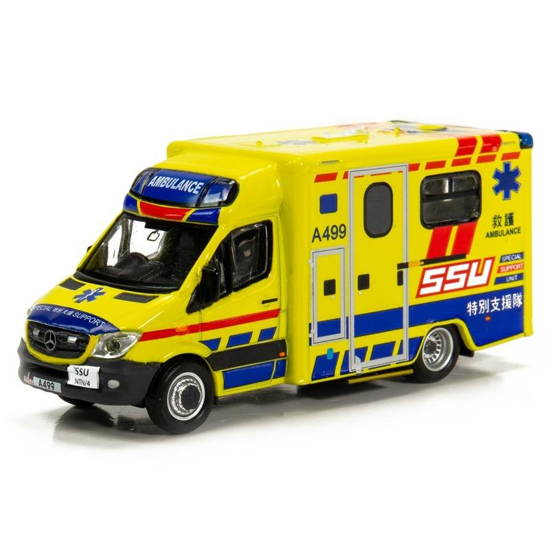 Tiny微影 158 平治Sprinter 消防處救護車SSU[A499]