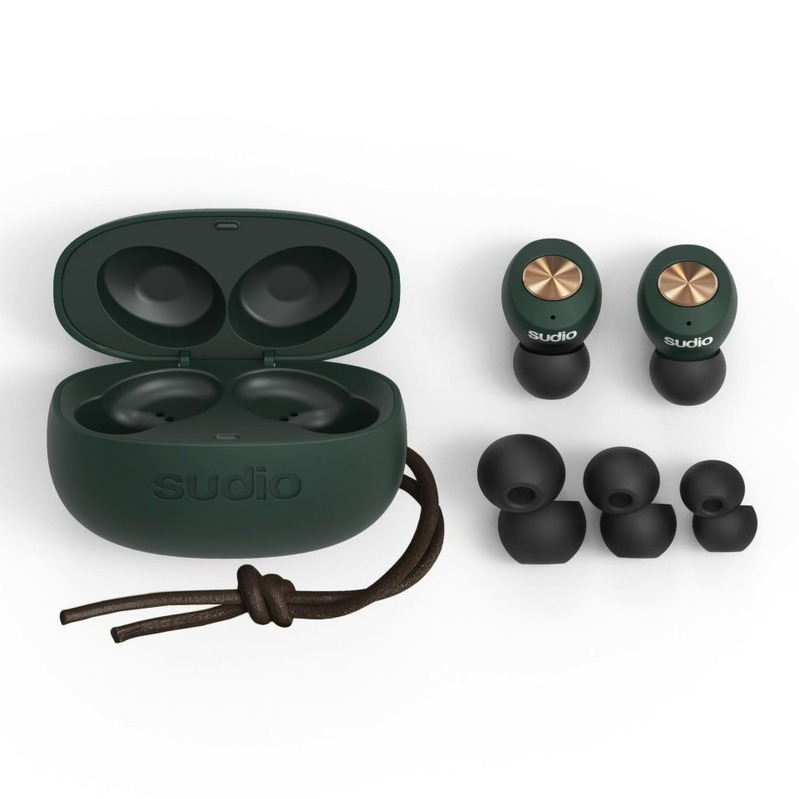 sudio Tolv Truly Wireless Green