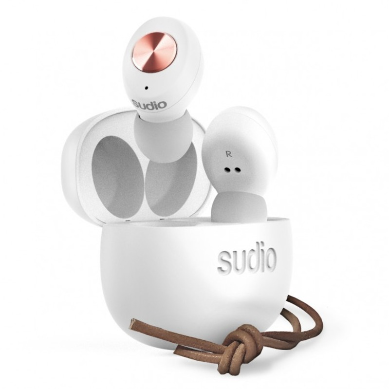 sudio Tolv Truly Wireless White