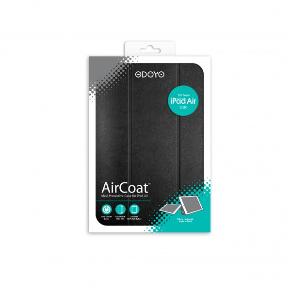 ODOYO AirCoat 2019 iPad Air Noir Black 黑色