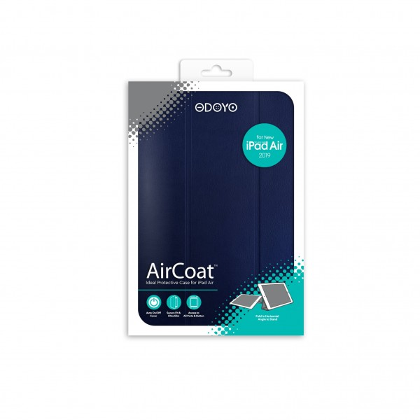 ODOYO AirCoat 2019 iPad Air Navy Blue 藍色
