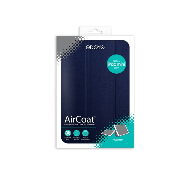 ODOYO AirCoat 2019 iPad Mini Navy Blue 藍色