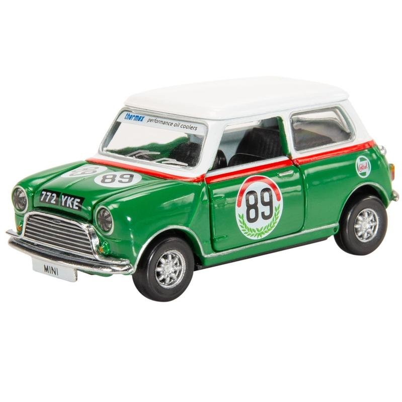Tiny微影 Mini Cooper 賽車#89