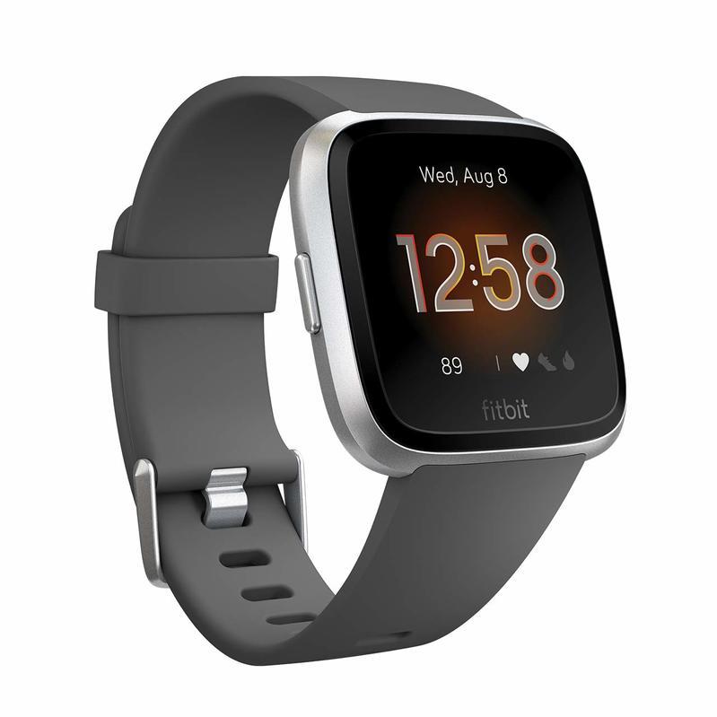 Fitbit versa Lite Charcoal/Silver