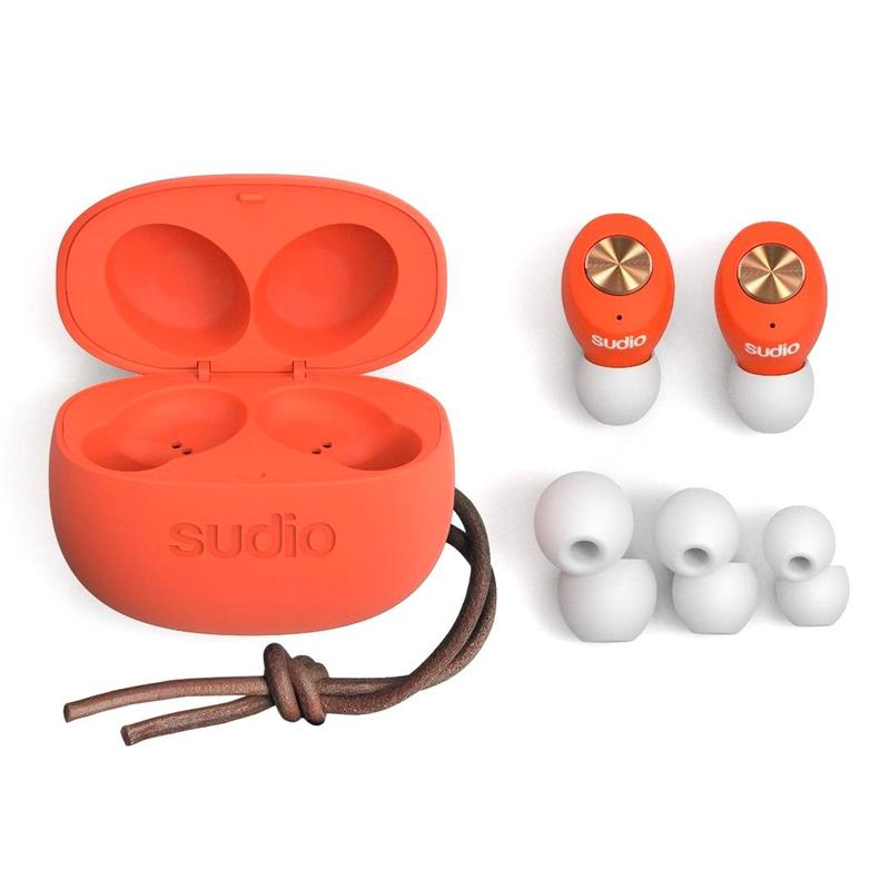 sudio Tolv Truly Wireless Coral