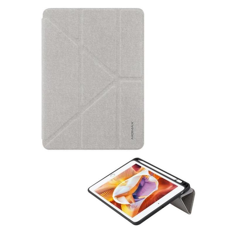 MOMAX iPad mini[2019] Flip Cover + Pen 灰