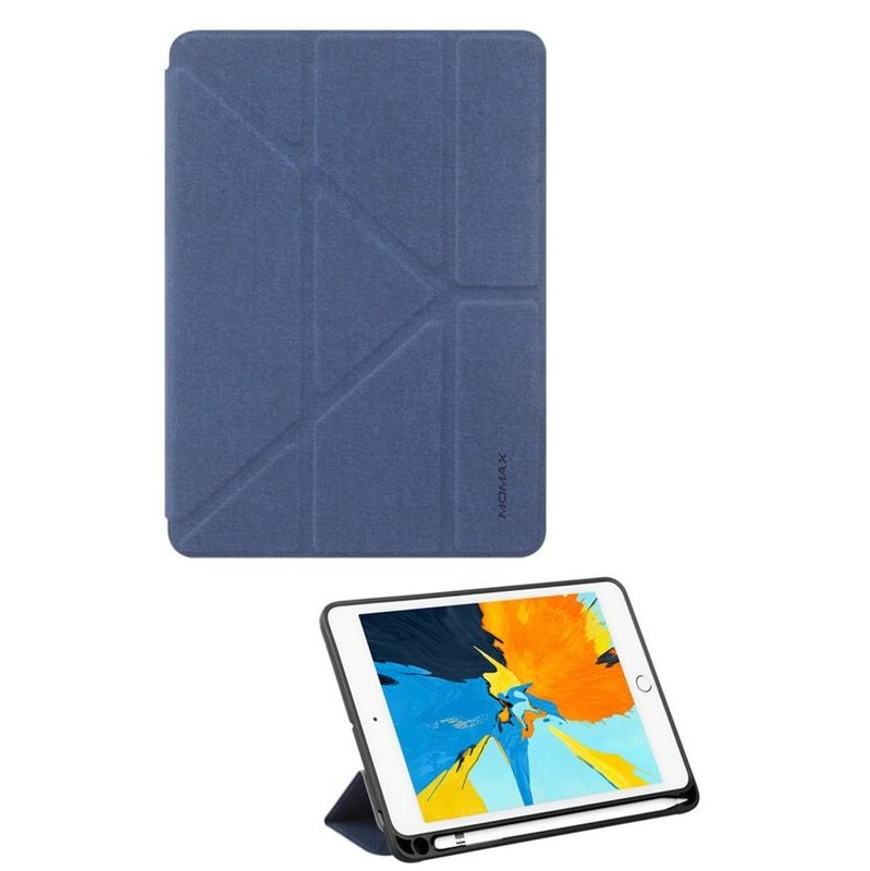 MOMAX iPad mini[2019] Flip Cover + Pen 藍