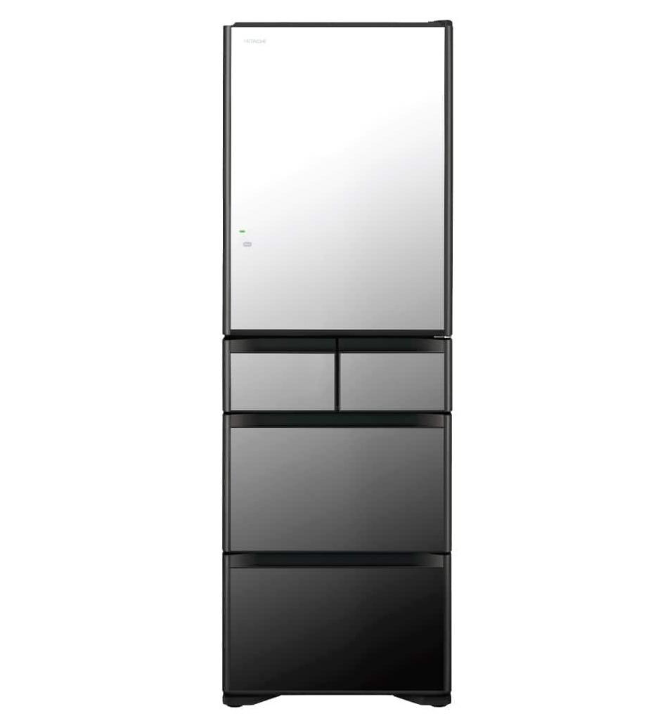 HITACHI 401L五門雪櫃 RG420GH-X 晶鑽鏡面