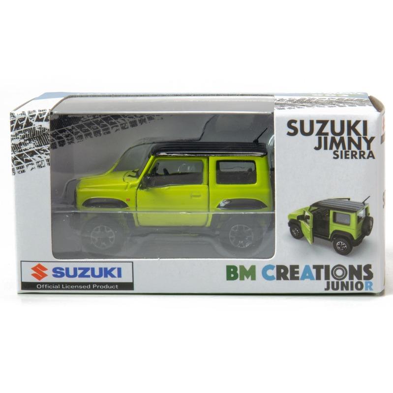 BM Creatio SUZUKI Jimny[JB74] DG5 右駕 1/64 Kinetic Yellow