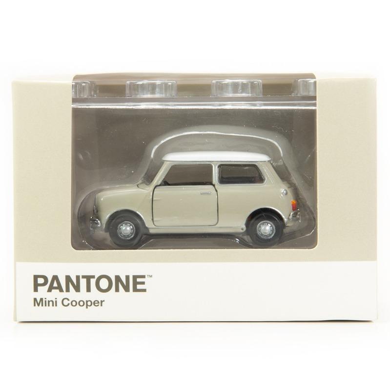 Tiny微影 Mini Cooper X Pantone Grey MK1 400C