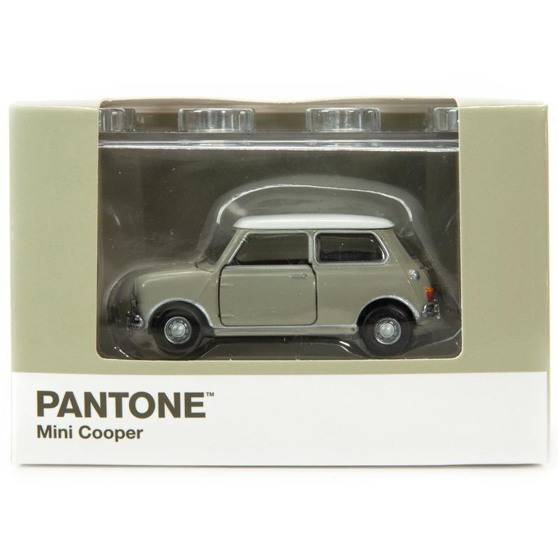 Tiny微影 Mini Cooper X Pantone Grey MK1 402C