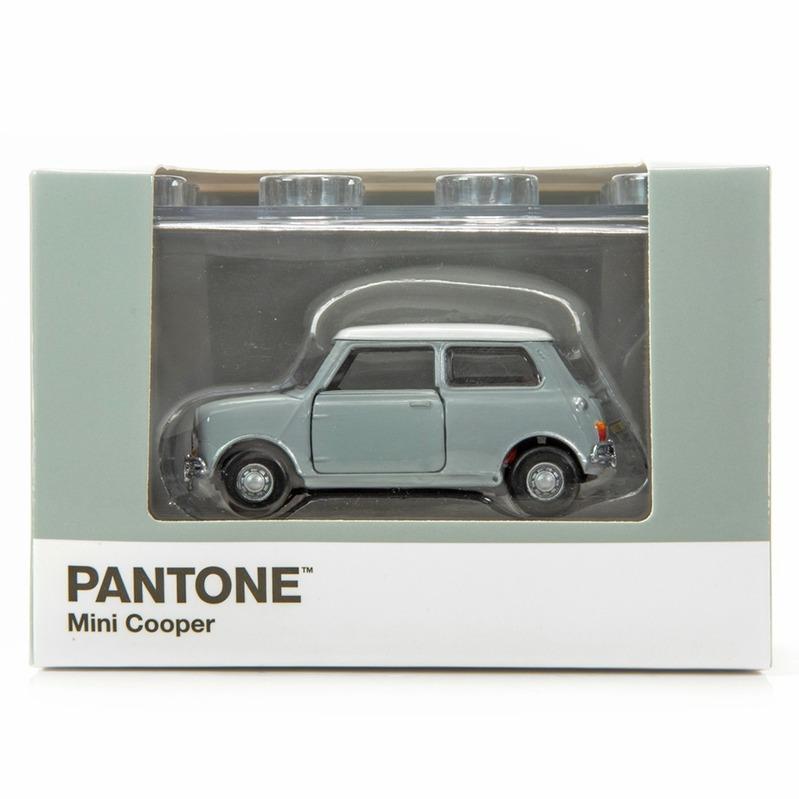 Tiny微影 Mini Cooper X Pantone Grey MK1 429C