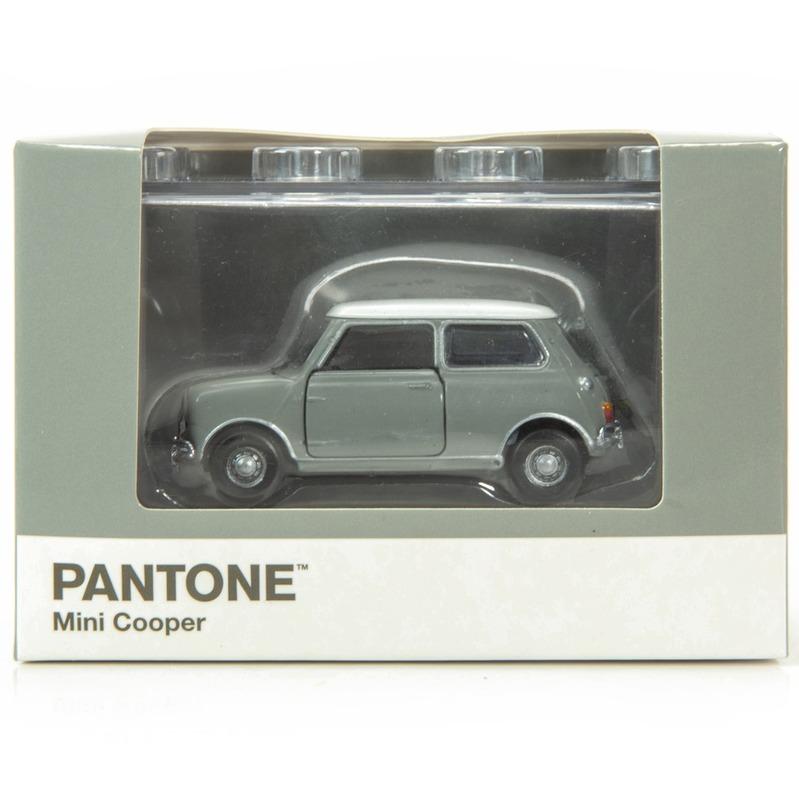 Tiny微影 Mini Cooper X Pantone Grey MK1 423C