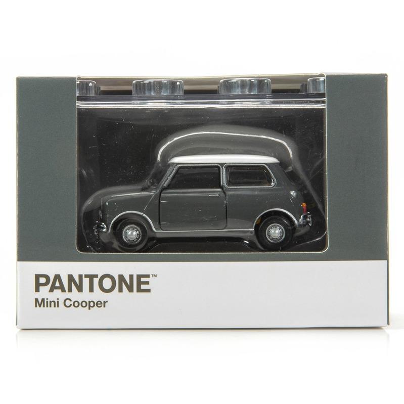 Tiny微影 Mini Cooper X Pantone Grey MK1 425C