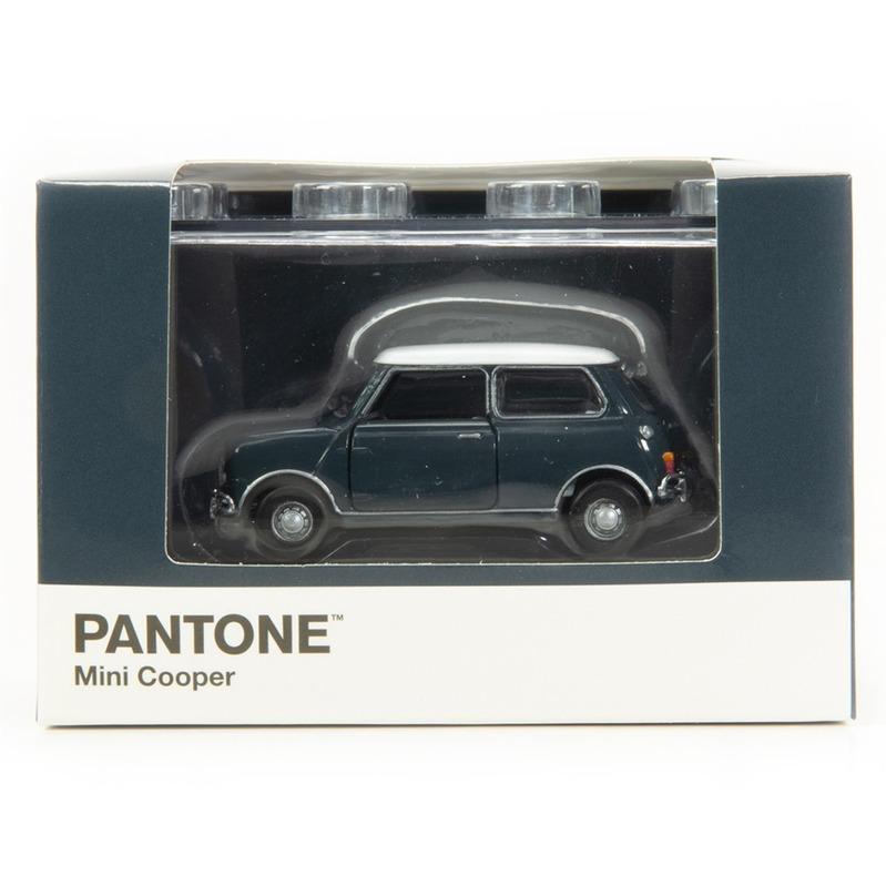 Tiny微影 Mini Cooper X Pantone Grey MK1 432C