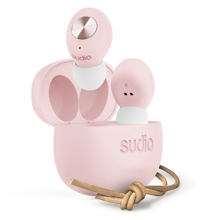 sudio Tolv Truly Wireless Pink