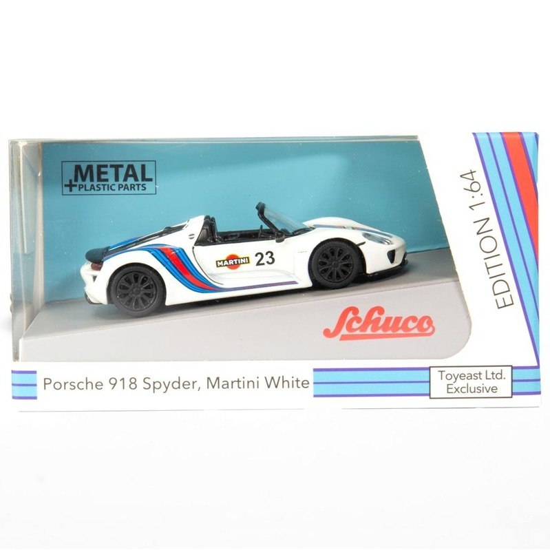 Schuco Porsche 918 Spyder, Martini White