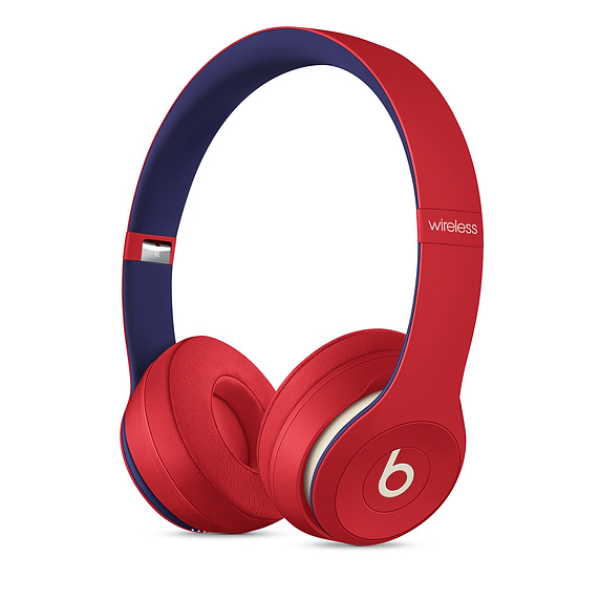 Beats Solo3 Wireless On-Ear Headphones Club Red
