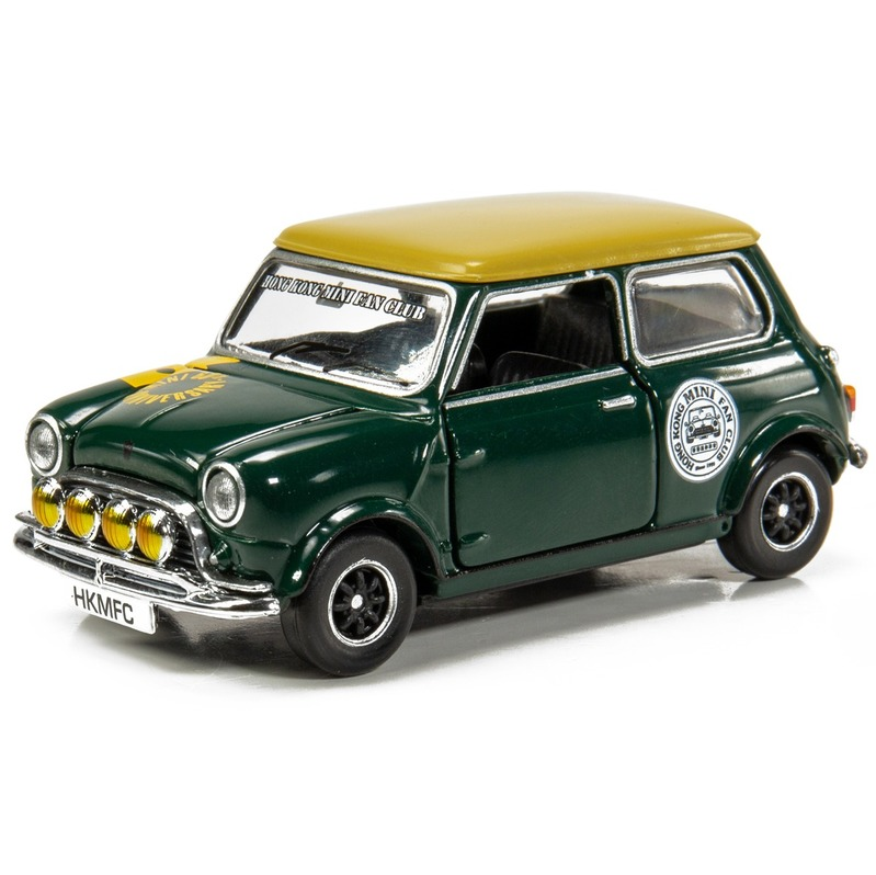 Tiny微影 Mini Cooper MK1 Hong Kong Mini Fan Club 綠