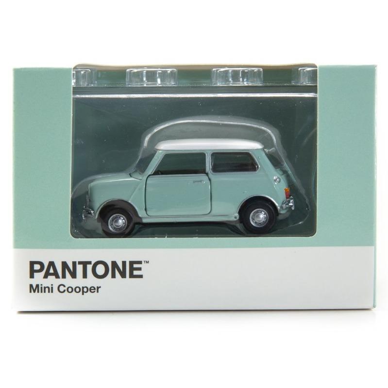 Tiny微影 Mini Cooper X Pantone Aqua MK1 5523C