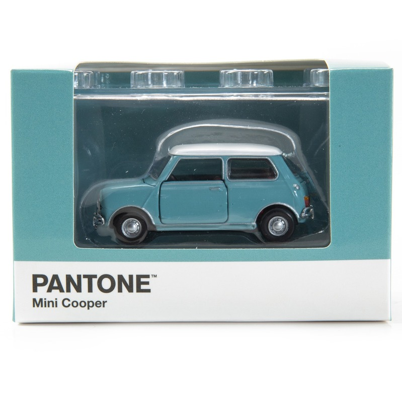 Tiny微影 Mini Cooper X Pantone Aqua MK1 5493C