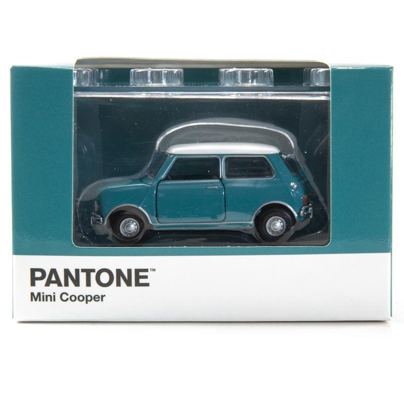 Tiny微影 Mini Cooper X Pantone Aqua MK1 5483C