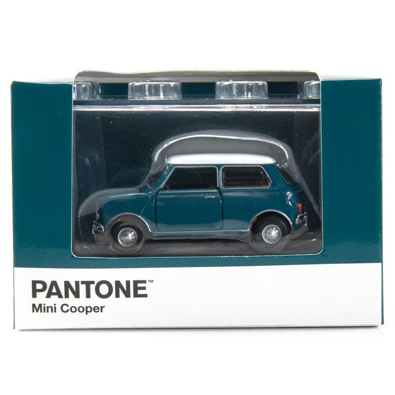 Tiny微影 Mini Cooper X Pantone Aqau MK1 5473C