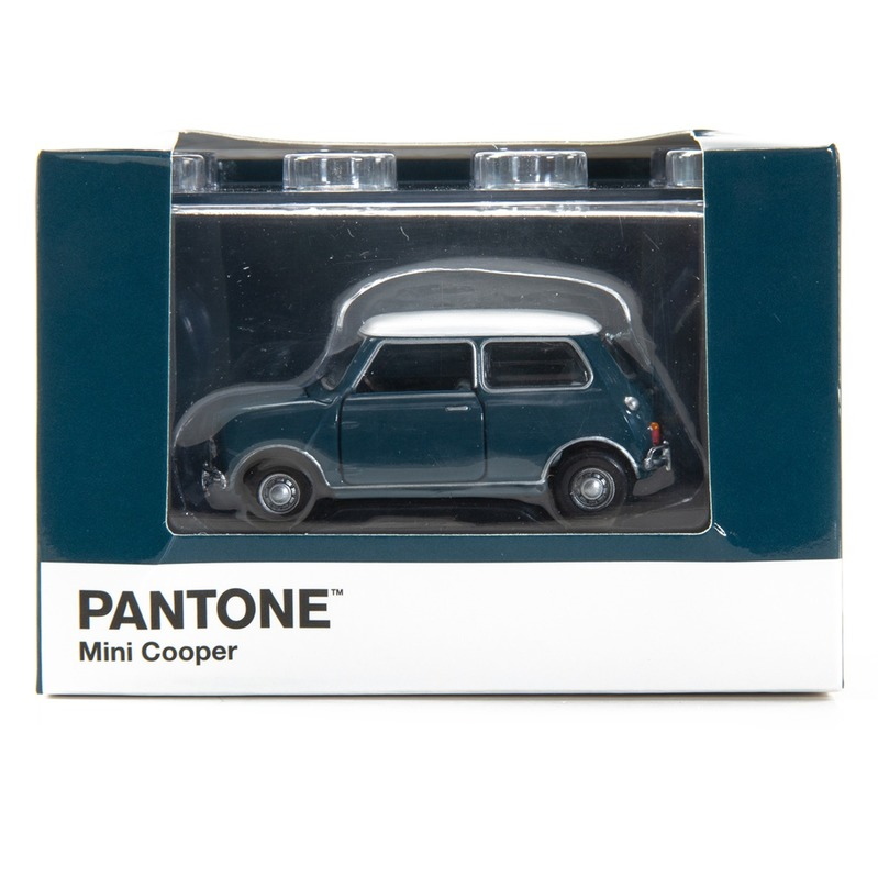 Tiny微影 Mini Cooper X Pantone Aqua MK1 7477C