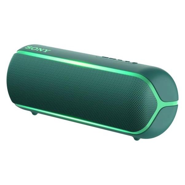 SONY EXTRA BASS Portable Bluetooth Speaker Green SRS-XB22/GC