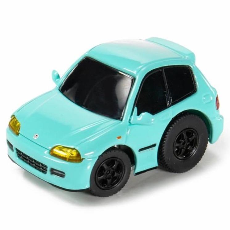 Tiny Q 本田Civic EG6 螢光藍