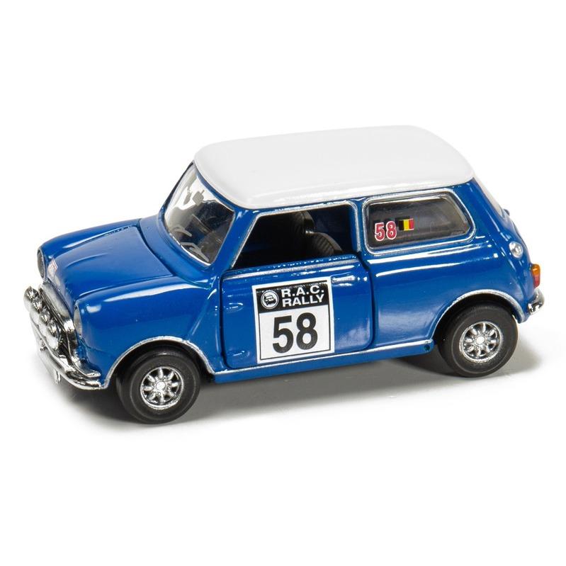 Tiny微影 Mini Cooper 賽車#58