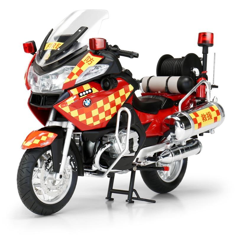 Tiny微影 1/12 寶馬 消防電單車