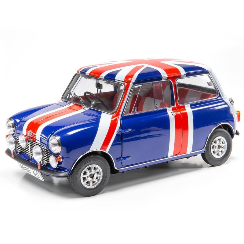 Tiny微影 1/12 Mini Cooper 英國旗