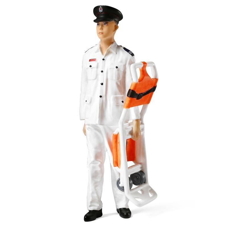 Tiny微影 樹脂公仔 22 八十年代救護員[1:18]