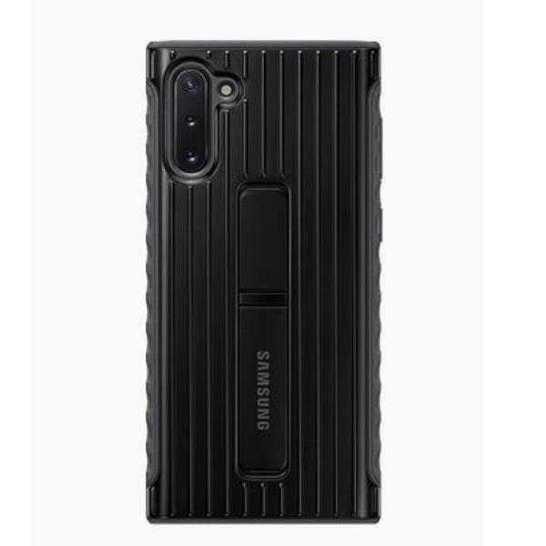 Samsung Note10 立架式保護背蓋 Black