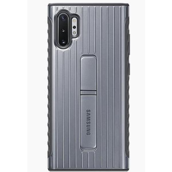 Samsung Note10+ 立架式保護背蓋 Silver