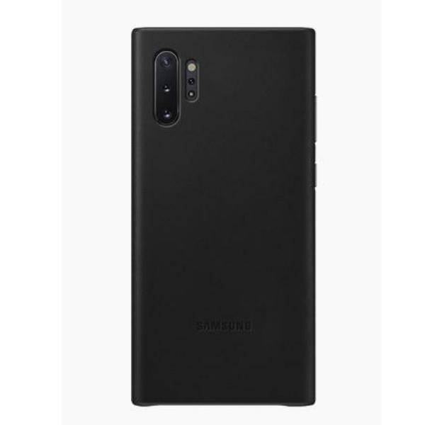 Samsung Note10+ 真皮背蓋 Black