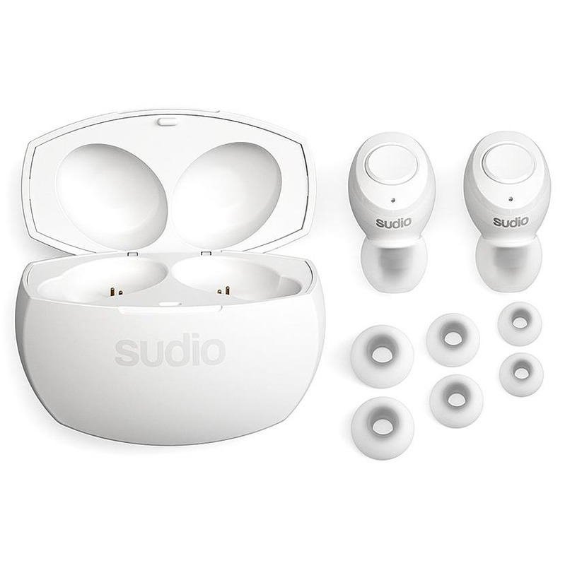 sudio Tolv R Truly Wireless White