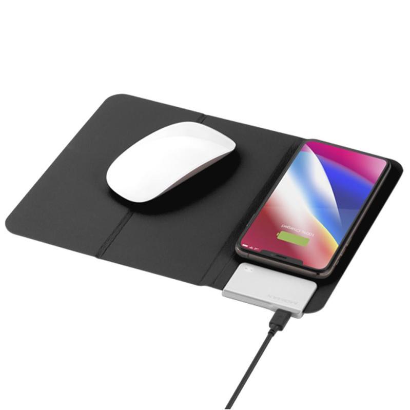 MOMAX Q.Mouse Pad 無線充電墊 黑