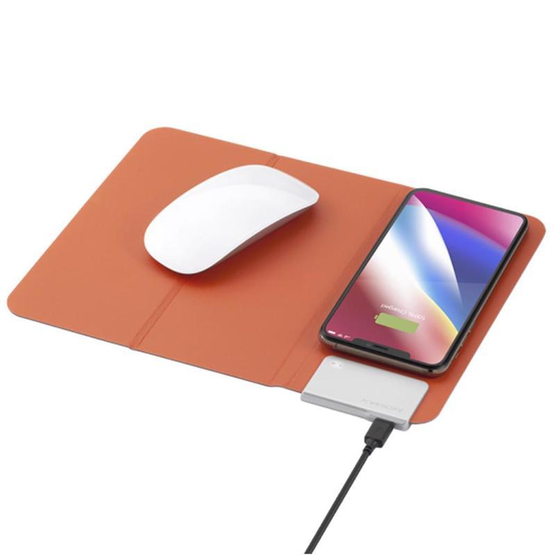 MOMAX [11] Q.Mouse Pad 無線充電墊 橙