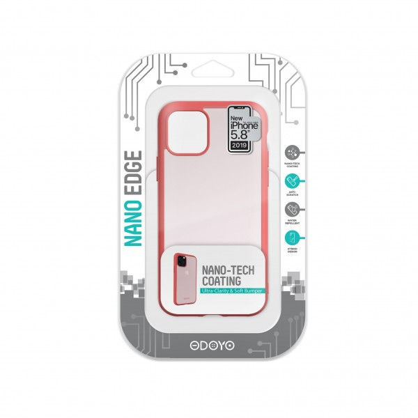 ODOYO Nano Edge For iPhone 11 Pro Cherry Pink