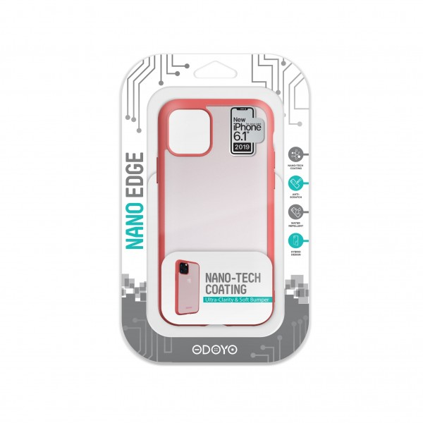 ODOYO Nano Edge For iPhone 11 Cherry Pink