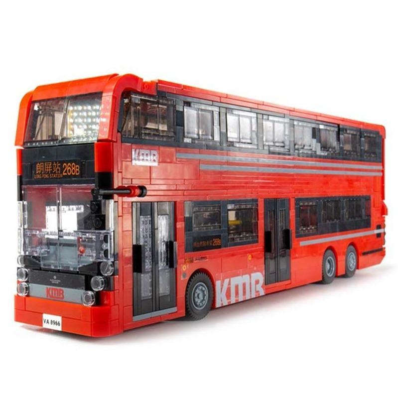 Tiny微影 KMBlock L01 E500 MMC紅巴士[大型;1637pcs]