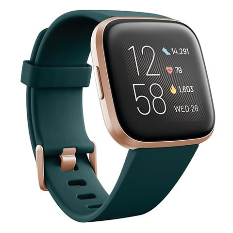 Fitbit versa 2 Peacock/Copper Rose