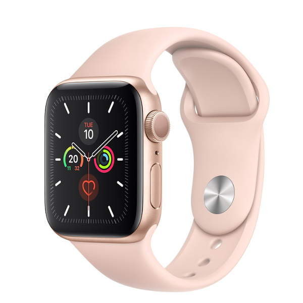 APPLE Watch S5 GPS 40mm Gold/Pink Sand Sport Band
